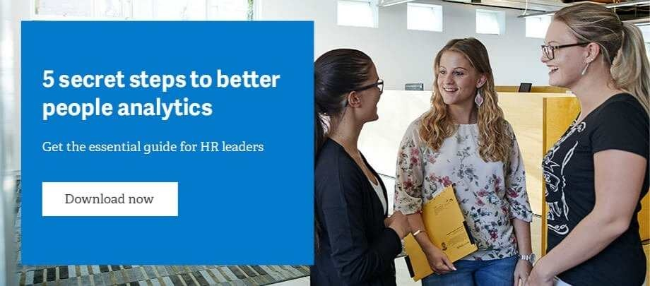 Download 5 Secret steps to better people analytics