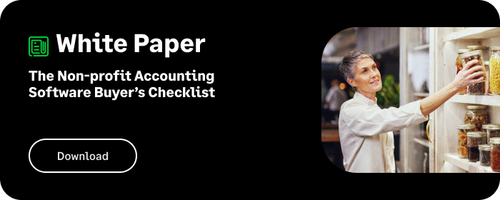 Whitepaper: Non-Profit Accounting Software Buyers Checklist
