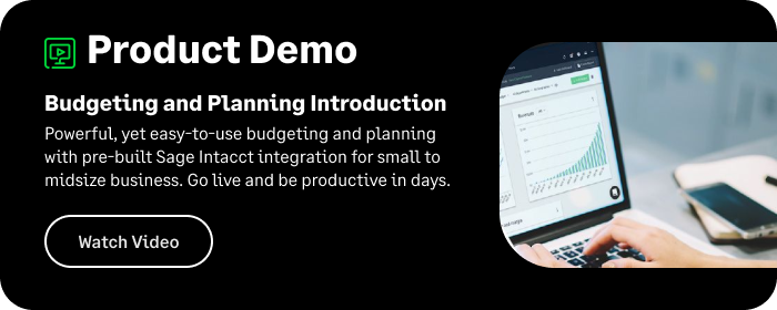 Budgeting and Planning Demo