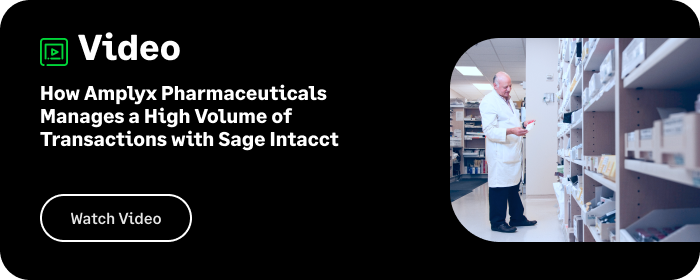 How Amplyx Pharmaceuticals Manages a High Volume of Transactions with Sage Intacct