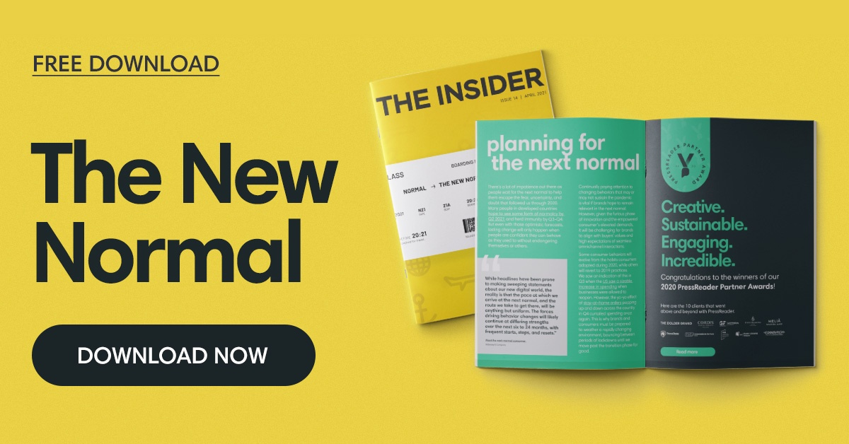 FREE DOWNLOAD: The New Normal