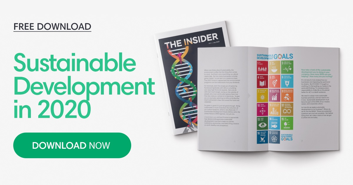 Free download: The Insider - Sustainable development in 2020