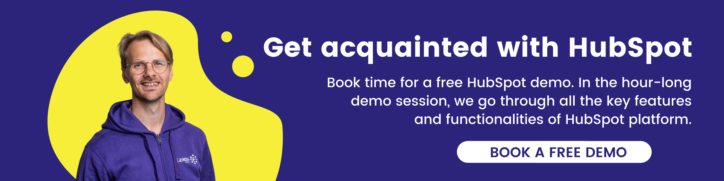Book free HubSpot demo with our specialist!