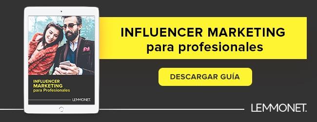 guia de influencer markting para profesionales