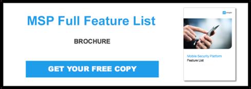 Onegini Mobile Security Platform Brochure download button