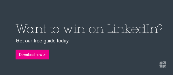 Want to win on Linkedin? Get the free guide.