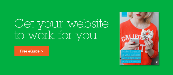 Get your website to work for you. Download our free ebook on website design.