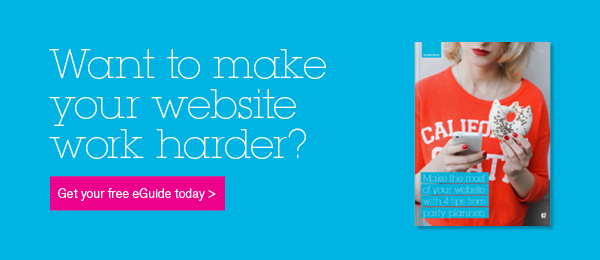 Want to make your website work harder? Download our free ebook on website design.