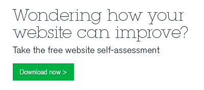Wondering how your website can improve? Take the free website self-assessment.