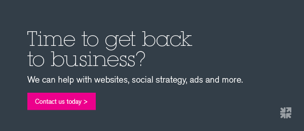 Need help with websites, social strategy, ads and more? Contact us today.