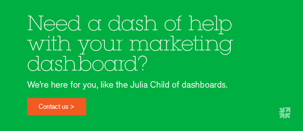 Need help with your marketing dashboard?