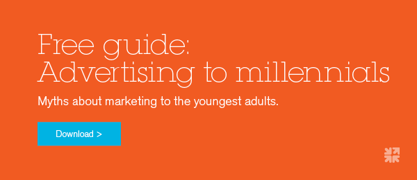 Free guide on advertising to millennials.