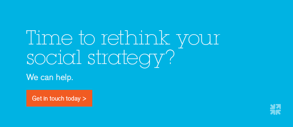 Time to rethink your social strategy? Contact us today.