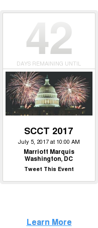 Learn More  <http://scct.org/page/2017AnnualSciMeeting/2017-Annual-Scientific-Meeting.htm>