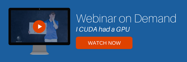 I CUDA had a gpu webinar on demand