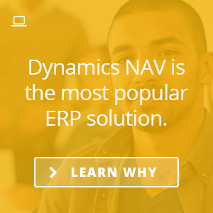 Learn why Microsoft Dynamics NAV is the world's most popular ERP solution