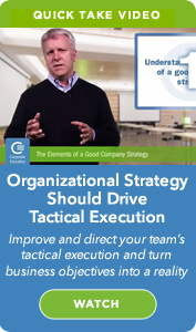 CEG On Demand Webinar: Organizational Strategy