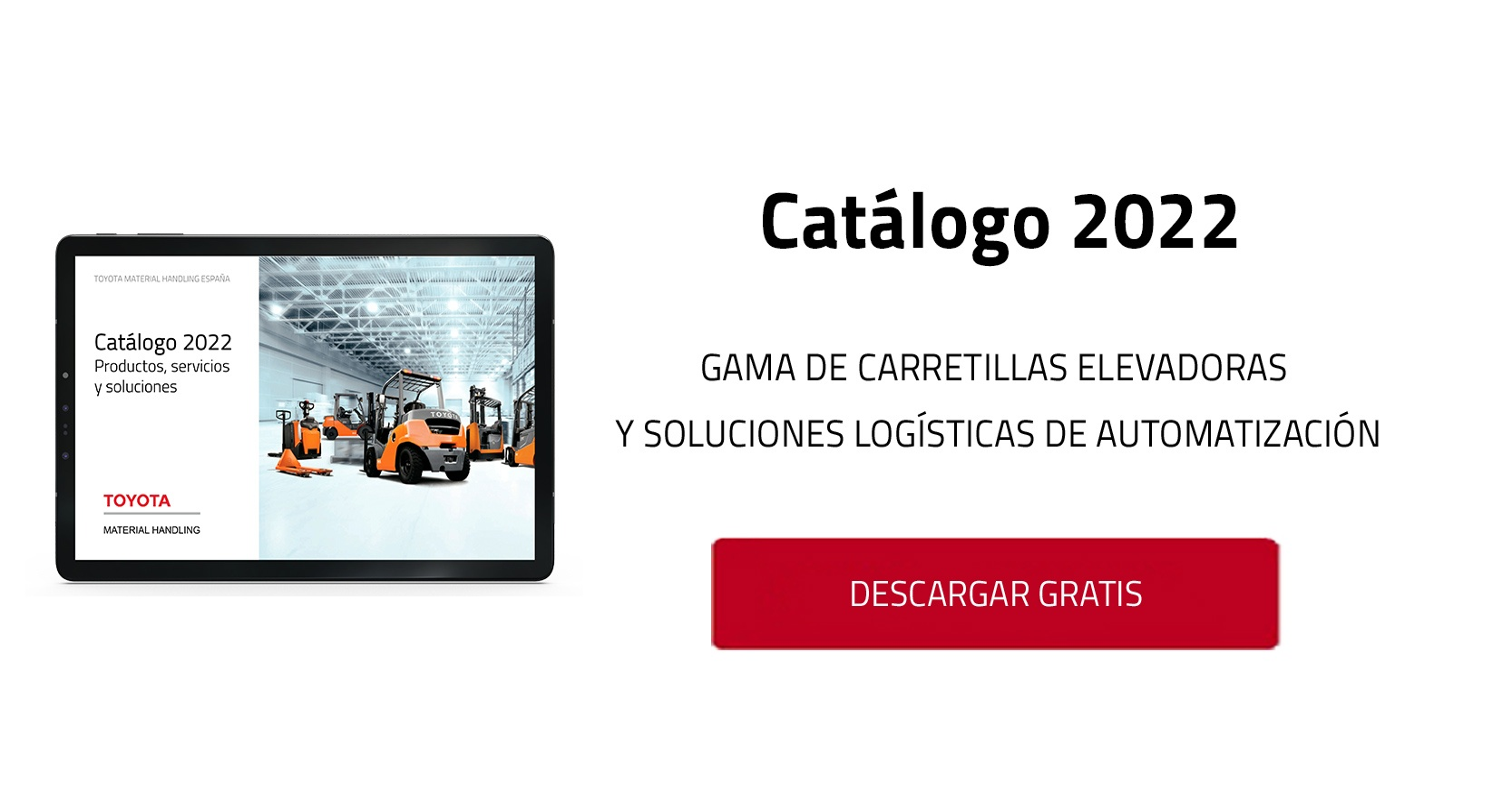 catálogo carretillas elevadoras toyota material handling
