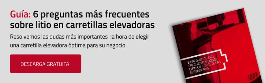 Guía: 6 preguntas más frecuentes sobre Litio en carretillas elevadoras