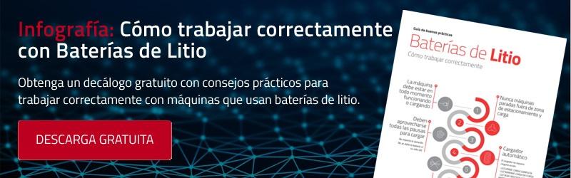Infografía: Cómo trabajar correctamente con Baterías de Litio