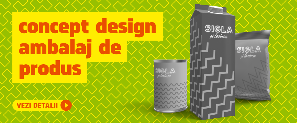 Concept design ambalaj de produs