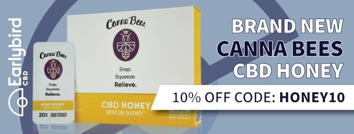 Canna Bees Rescue Blend CBD Honey 10% Off