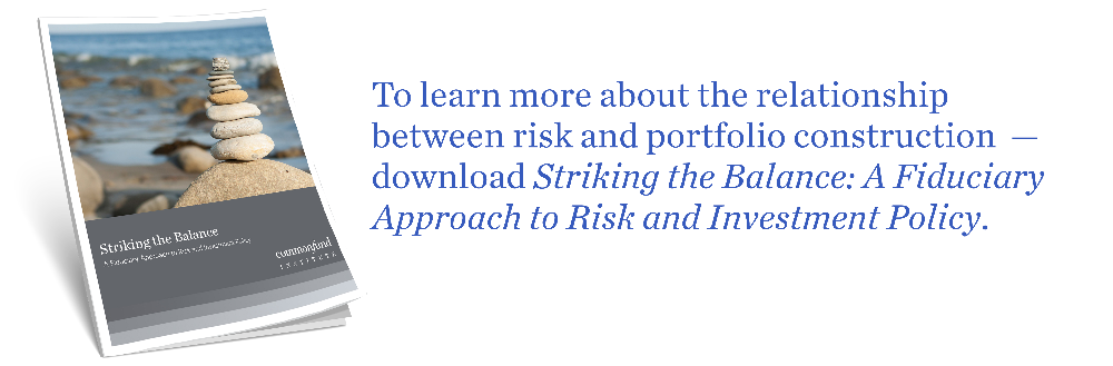 Learn more on risk and portfolio contruction