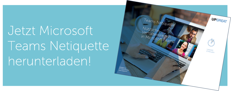 Netiquette - Microsoft Teams