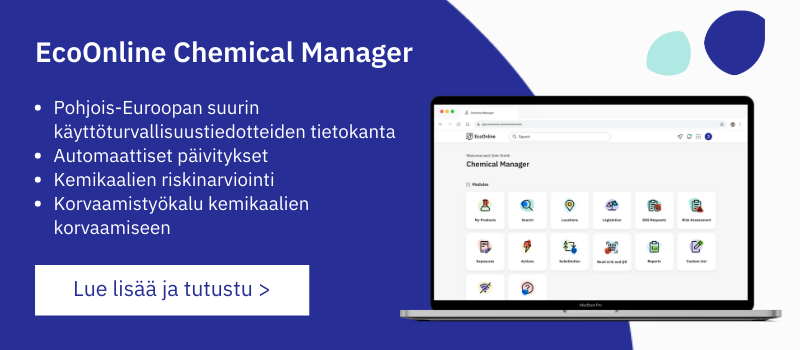 EcoOnline Chemical Manager