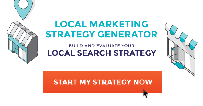 FREE TOOL: Generate your Local Marketing Strategy