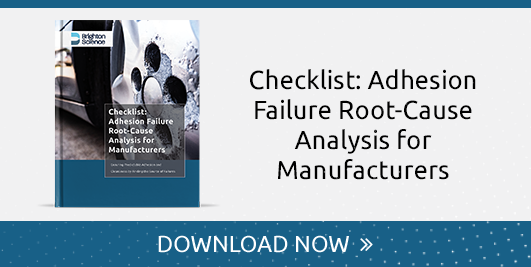 Adhesion Failure Root-Cause Analysis for Manufacturers