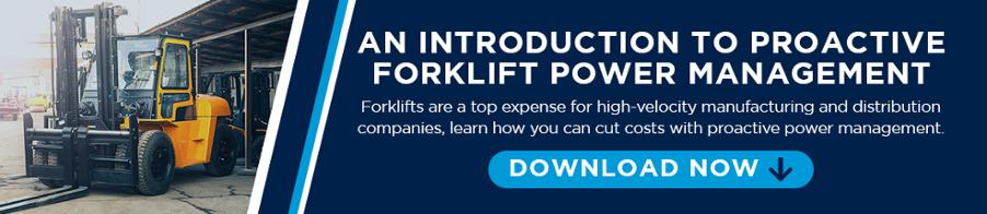 Proactive Forklift Power Management
