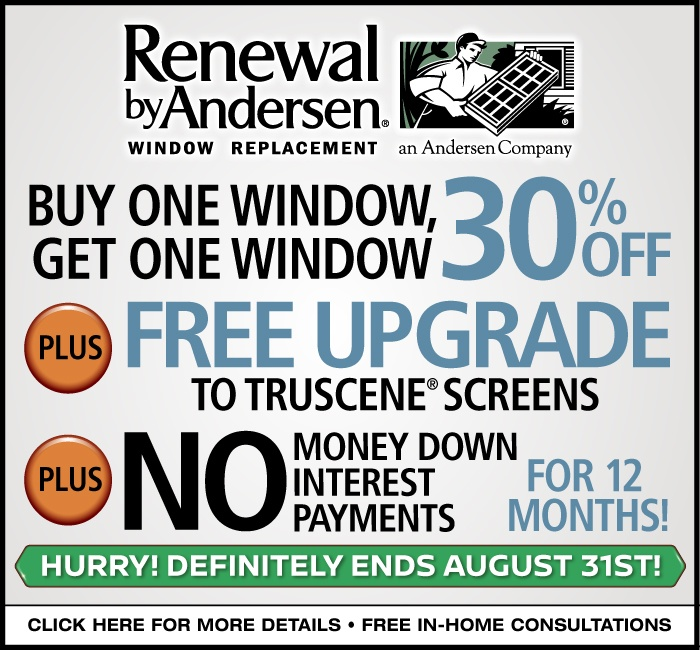 Renewal by Andersen Replacement Window Sale