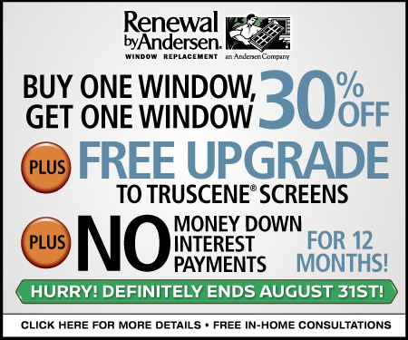 Renewal by Andersen Midwest Window Offer