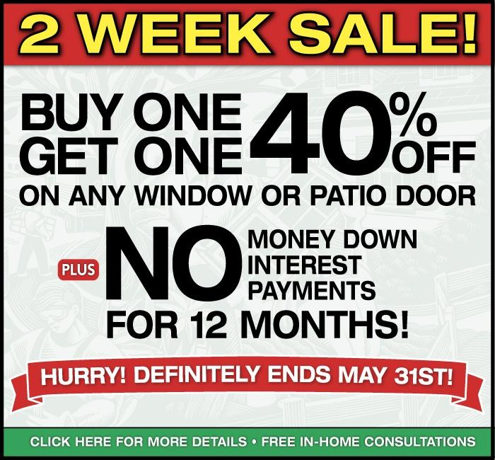 Renewal by Andersen Replacement Window Sale