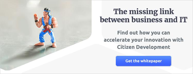 Betty Blocks - Rise of the Citizen Developer