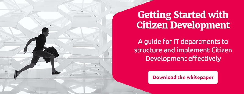 Getting Started with Citizen Development whitepaper