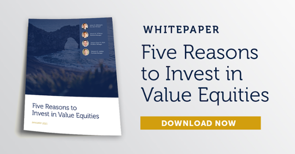 Five Reasons to Invest in Value Equities