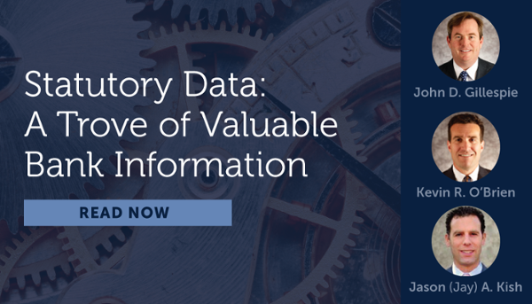 Statutory Data: A Trove of Valuable Bank Information