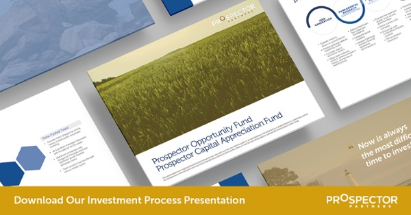Request the Prospector Partners Process Presentation