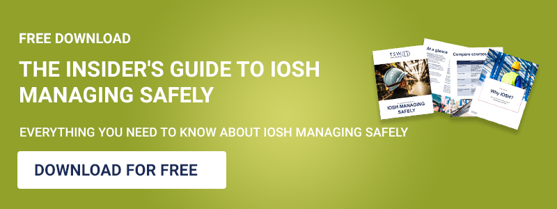 The Insider's Guide to IOSH Managing Safely