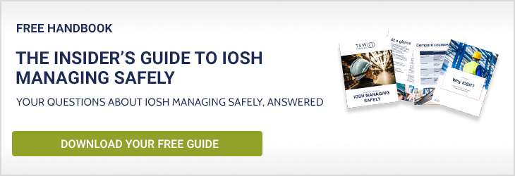 Download the Insider's Guide to IOSH Managing Safely