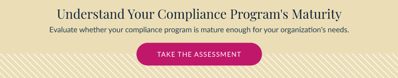 Take the Compliance Maturity Assessment