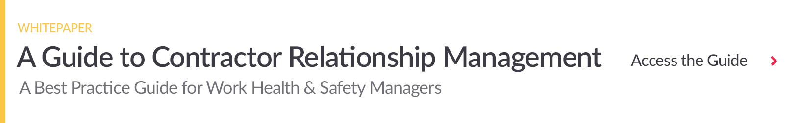 Download Contractor Relationship Management Guide