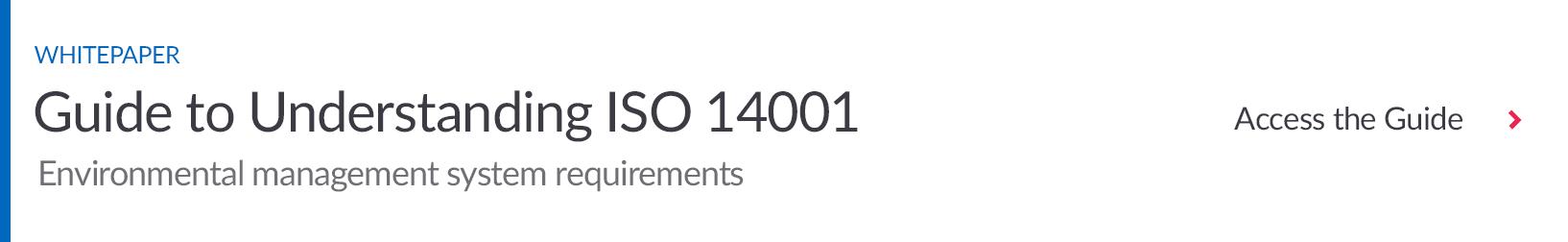 Download Guide to Understanding ISO 14001