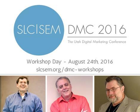DMC 2016 Workshop Day