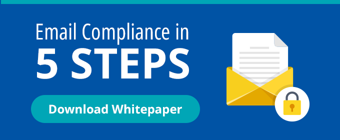 Email Compliance in 5 Steps
