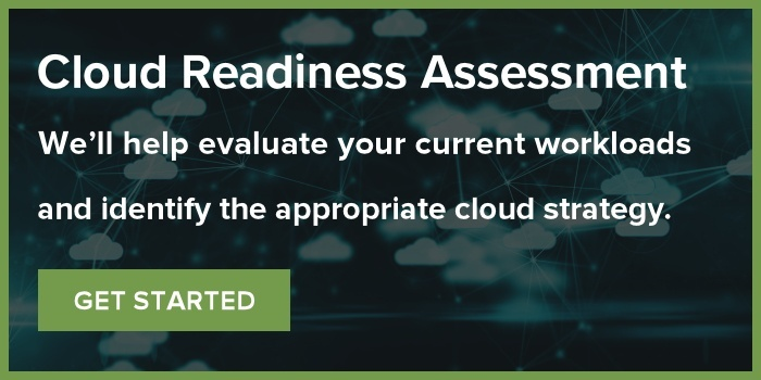 Cloud Readiness Assessment: We'll help evaluate your current workloads and identify the appropriate cloud strategy. Get Started!