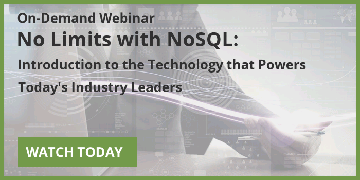 Watch the On-Demand Webinar: No Limits with NoSQL