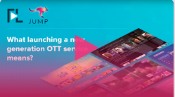 What launching a new OTT generation service means?